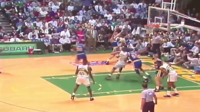 Happy birthday to Sonics legend Shawn Kemp! One of the all-time disrespectful dunkers