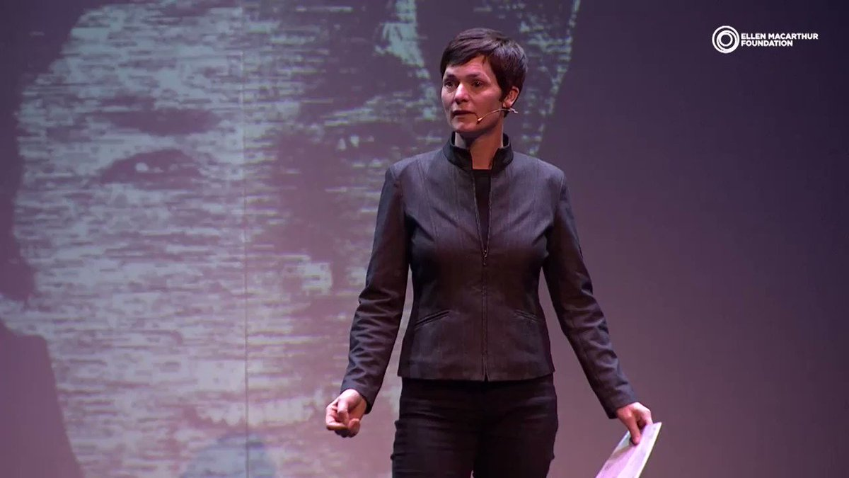 How we went from a group of CEOs sitting in a room asking what can we do to 10% of the market committing to designing 100% reusable, recyclable or compostable plastic packaging by 2025. @ellenmacarthur on momentum towards the #circulareconomy.