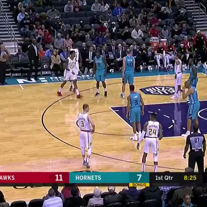 Atlanta Hawks announcers switch to golf commentator mode to mock quiet crowd in Charlotte