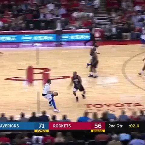 Luka Doncic hits a buzzer beater from deeeep. #NBARooks