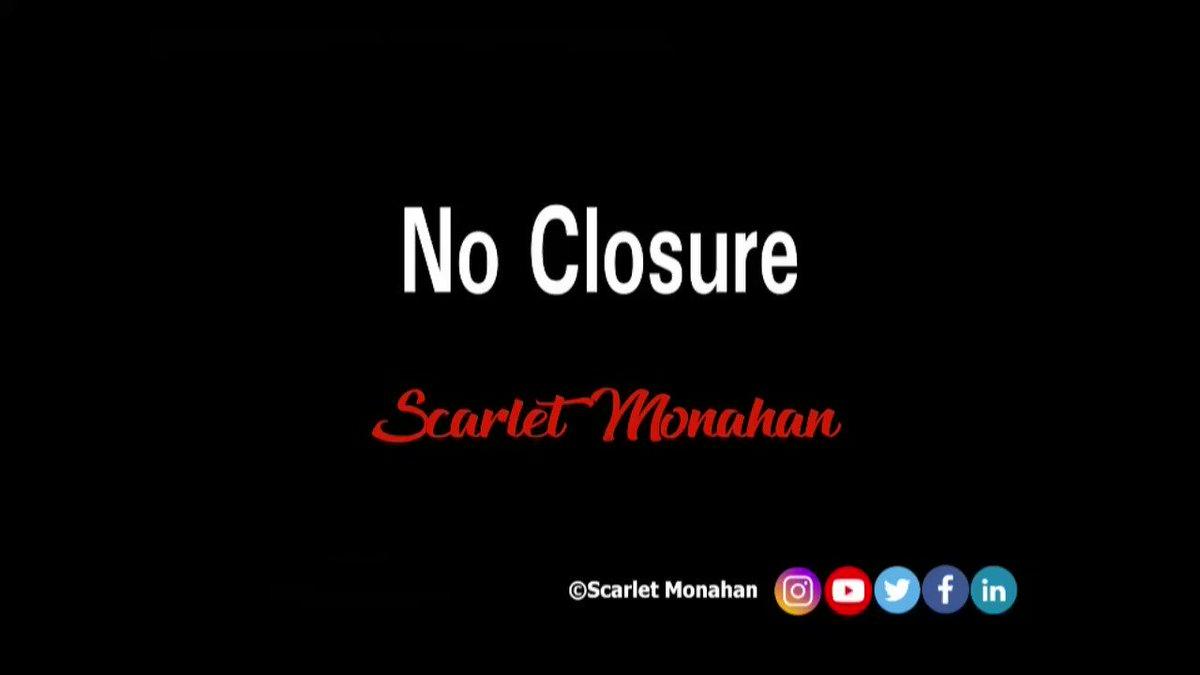 No closure. #poetry #poet #poetrycommunity #poetrylovers #art #spokenword #words #artist #scarletmonahan #writer  21