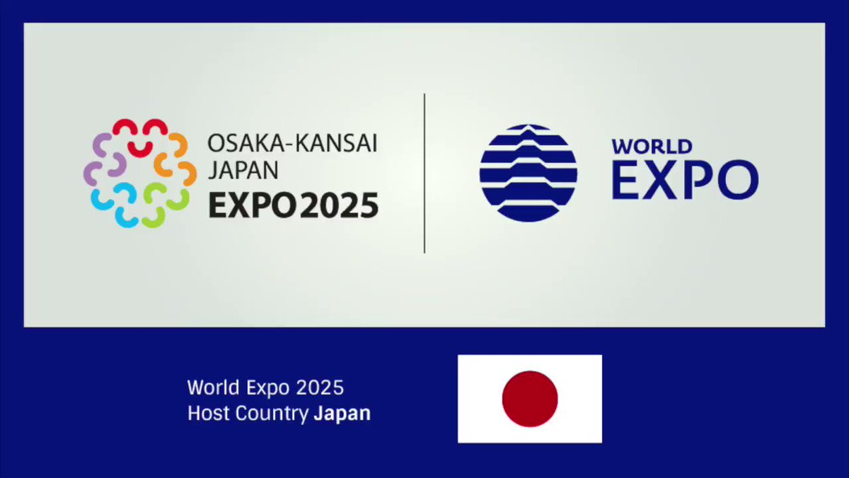 Yokoso! Welcome to Osaka-Kansai! 55 years after World #Expo1970, Japan will welcome the world again for World #Expo2025! @expo2025japan
