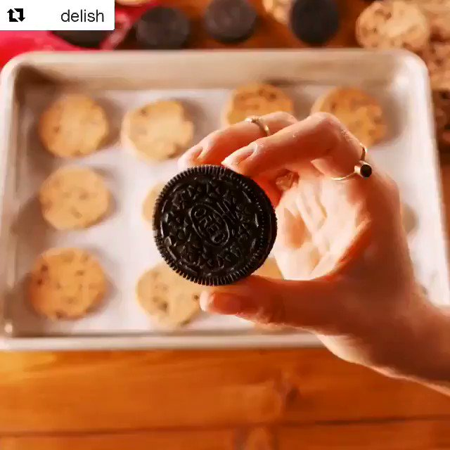 Image for the Tweet beginning: .@delish is one smart cookie!