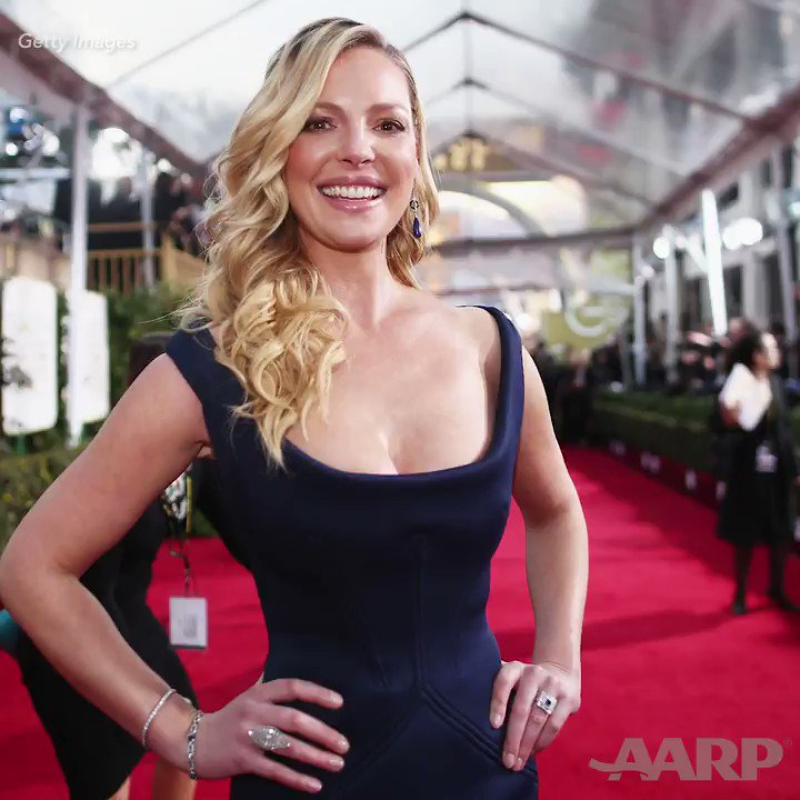 """Forget """"over the hill."""" Turning 40 is a thrilling milestone. Just ask Katherine Heigl. #DisruptAging"""