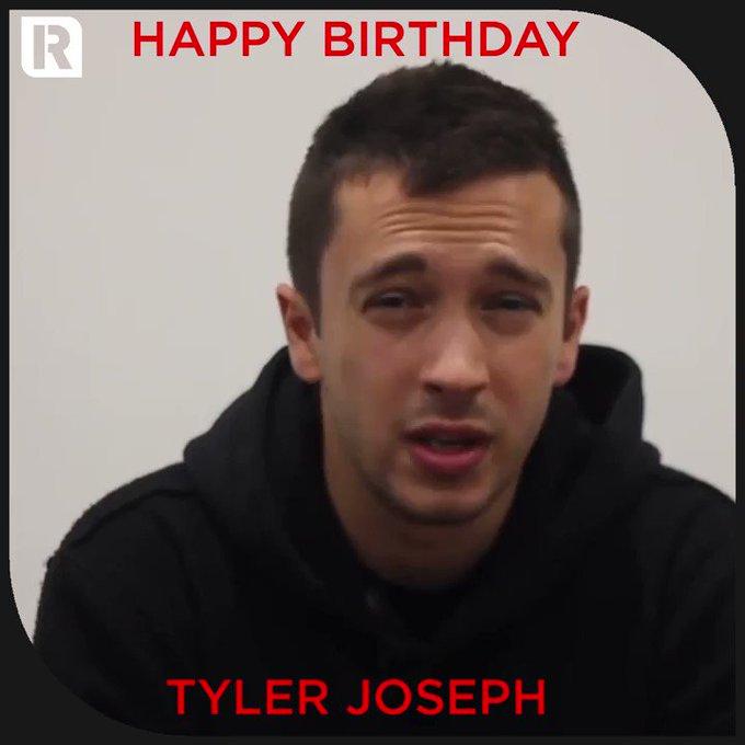 Happy Birthday to Twenty One Pilots\ Tyler Joseph