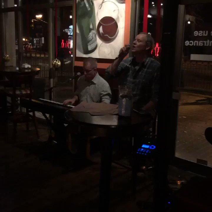 Steve and Erik. Tonight at Pepperwood. #Burlington #BurlON