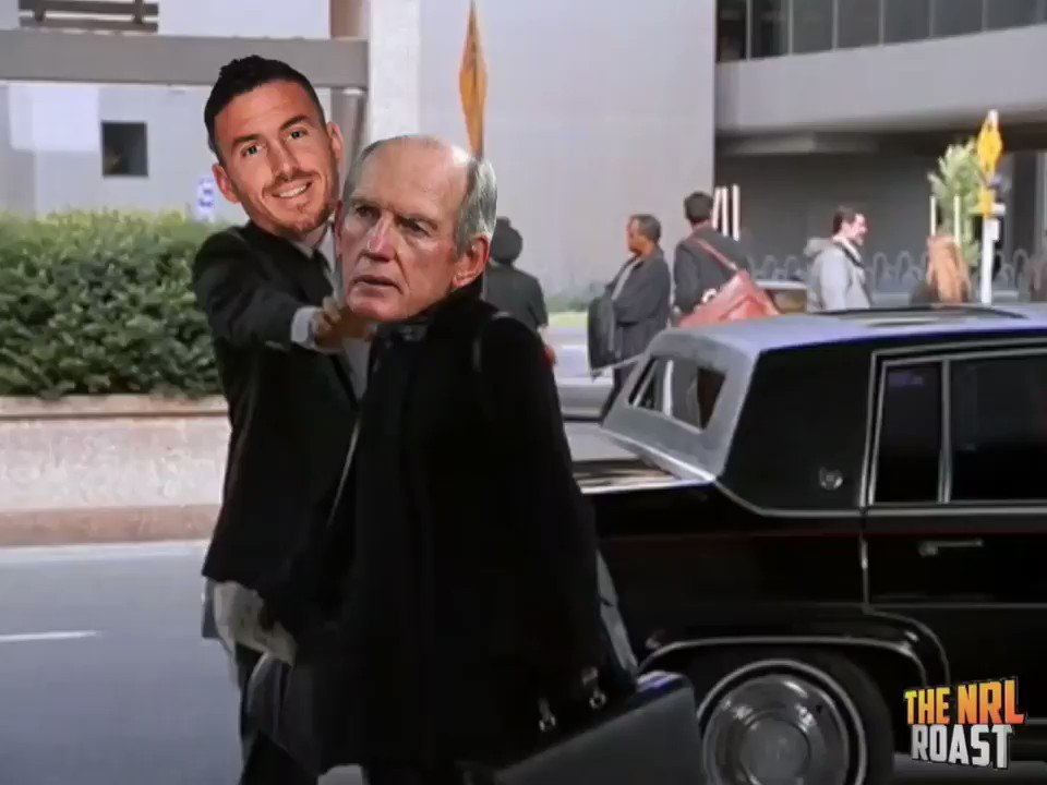 Darius dropping Wayne at the airport #NRL #RugbyLeague