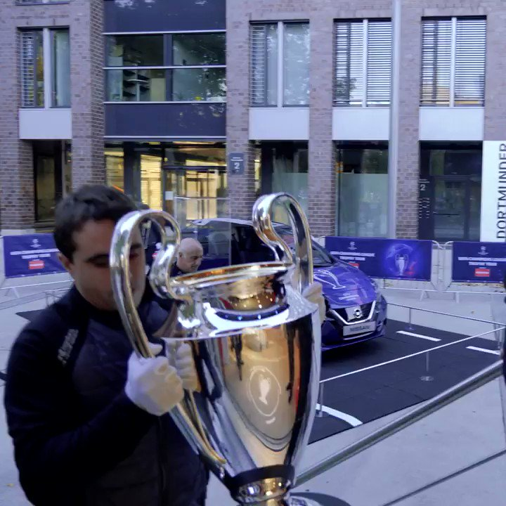🎬 A 7-stage European journey, legendary players and an iconic trophy in levitation… It's time to relive the excitement of our UEFA @ChampionsLeague Trophy Tour driven by @NissanFootball 🔥🤩#InnovateYourGame🧠