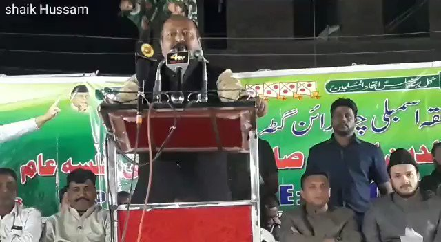 @syedasimwaqar Spokesperson #Aimim strong reply to UP CM yogi Adityanaths Comments. Addressed public meeting At Habeeb nagar Chandrayangutta Constituency.@asadowaisi