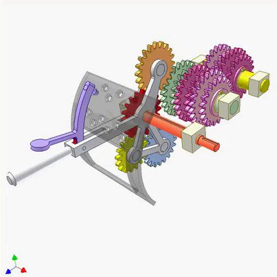 Shifting Gear Mechanism
