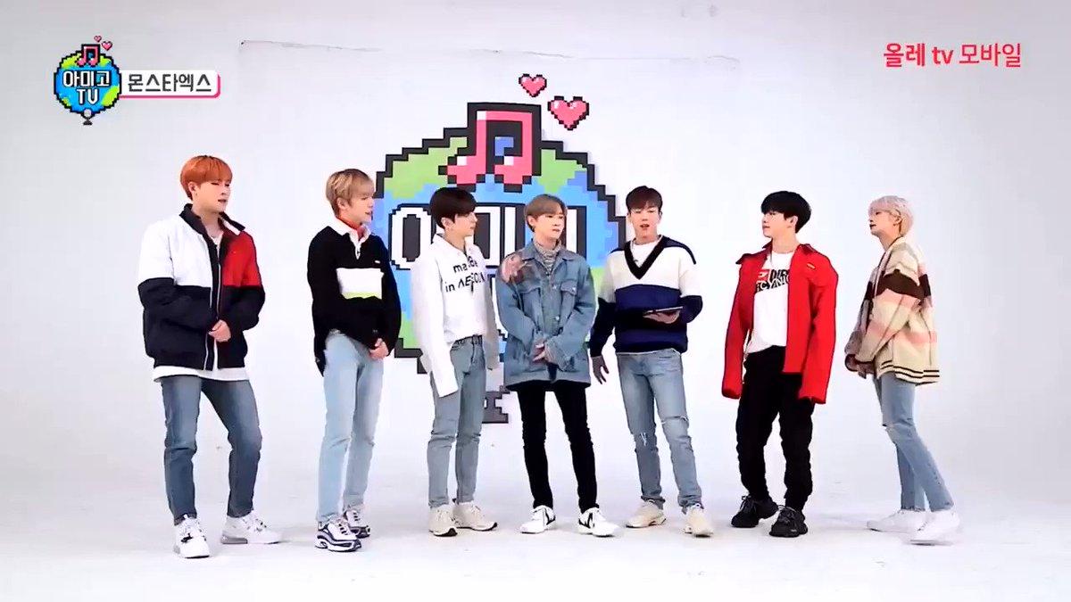 Los chicos estaban tratando de hacer el rap de jooheon en shoot out y al único q le salió fue a hyungwon DIOS EXTRAÑÓ TANTO VER A MIS SIETE ANGELITOS JUNTOS😭💔 @OfficialMonstaX