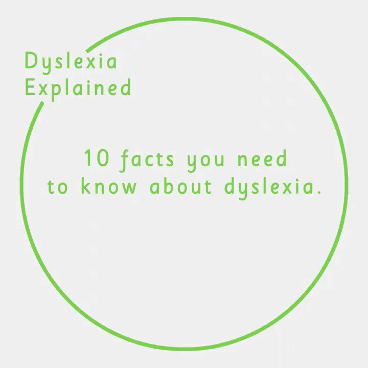 DYSLEXIA FACTS  We're Spelling them Out in this simple booklet http://bit.ly/2P6XedU  & this 60 second film.  Please read, watch & RT to help us spread the word. Thank you! #ValueOfDyslexia #MadeByDyslexia #SayDyslexia