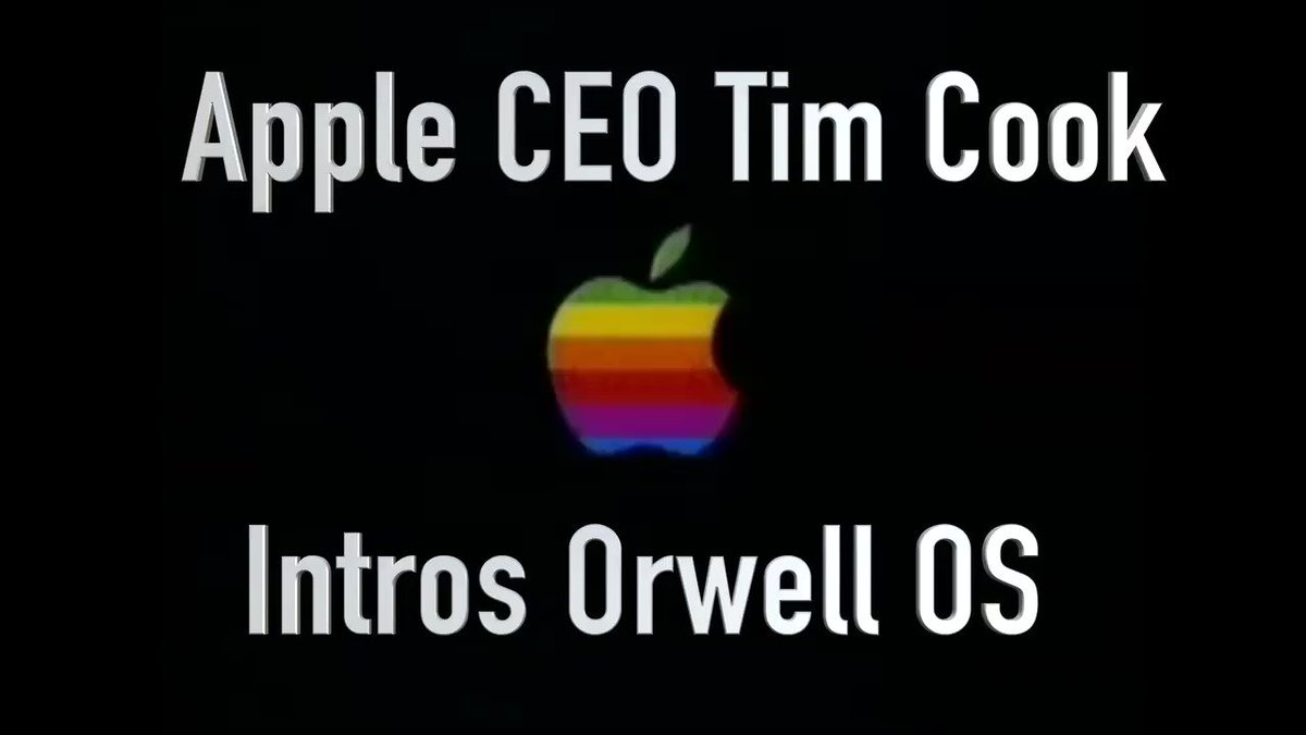 Image for the Tweet beginning: #Apple CEO Tim Cook took