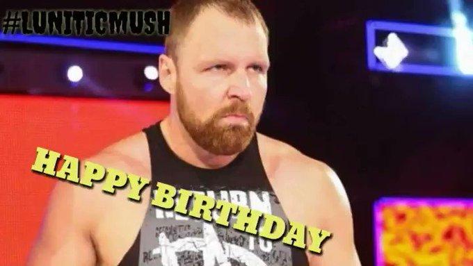 Happy birthday my dear Dean Ambrose