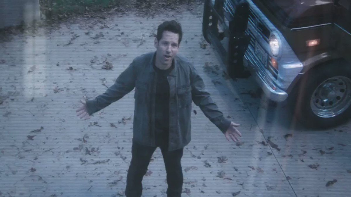 This is Scott Lang. We met a few years ago... at the airport... in Germany... I got really big. Can you buzz me in? #AvengersEndGame