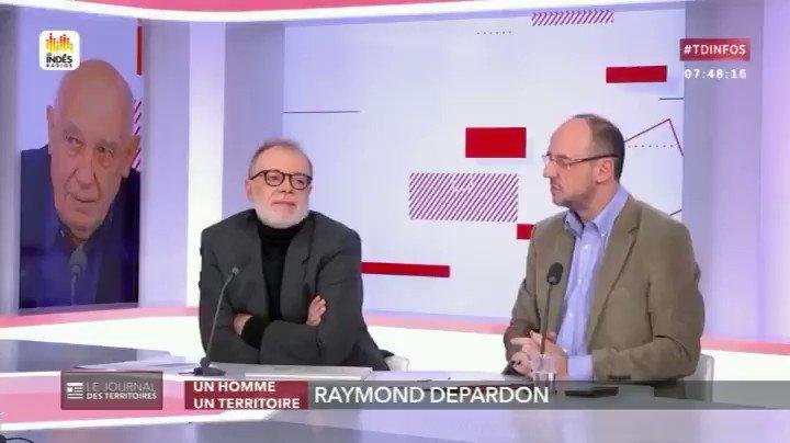 Image for the Tweet beginning: [Vu sur @publicsenat] @RaymondDepardon était