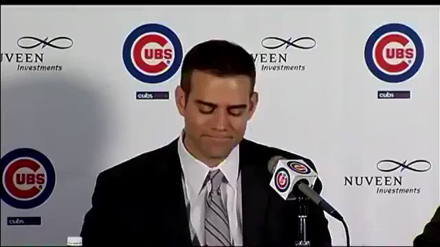 #TGIF #Cubs #TheoEpstein #Cubsessed #iamCubsessed