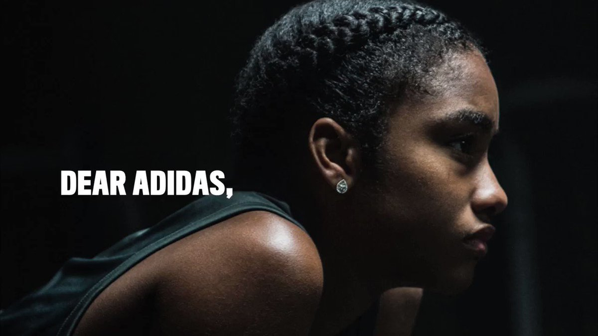 Dear adidas, It's time to step up and level the field for women in sport.