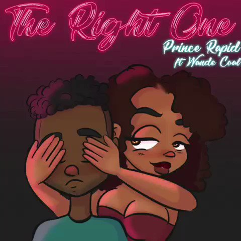 @PrinceRapid and myself!! On this Beautiful Track #RightOne . Enjoy apple.co/2BW9ZAv