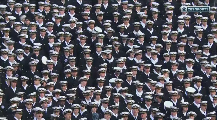 """The military chaplain's prayer before the Army Navy game:  """"In this game every player on the field is willing to die for every person watching.""""   Wow."""