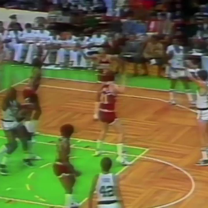 Here's two minutes of nothing but great Larry Bird passes. You're welcome.