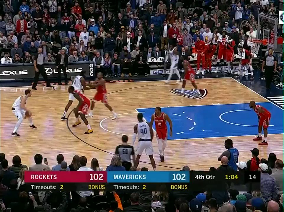 This clutch step-back 3 capped off Luka's *11-0* fourth-quarter run in the Mavs' win ������ https://t.co/k7PP59oUzc