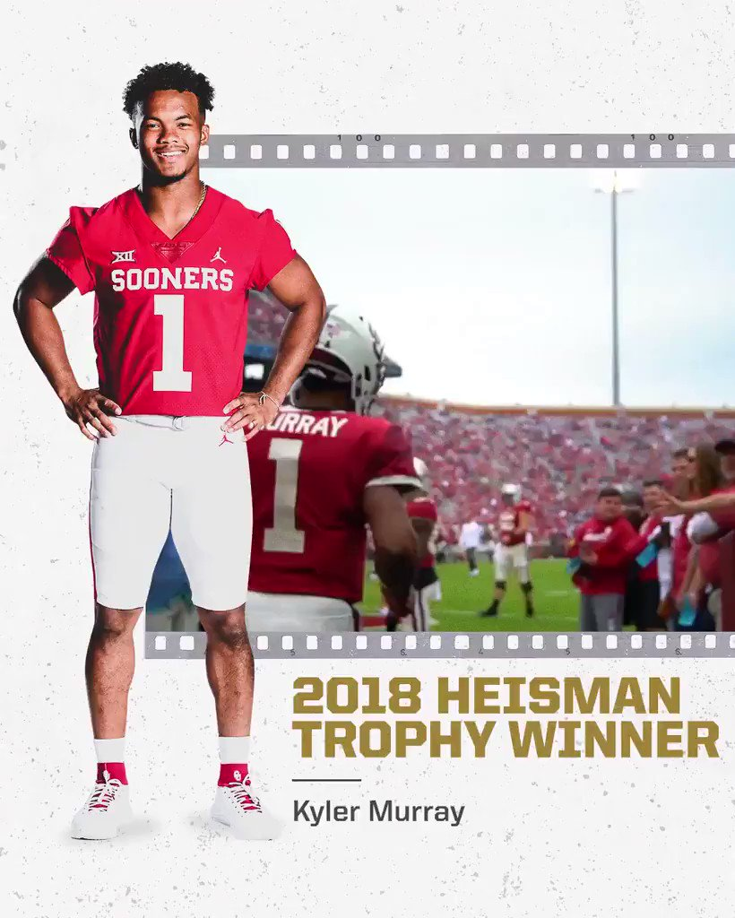 A look at how Kyler Murray became this year's Heisman Trophy winner: