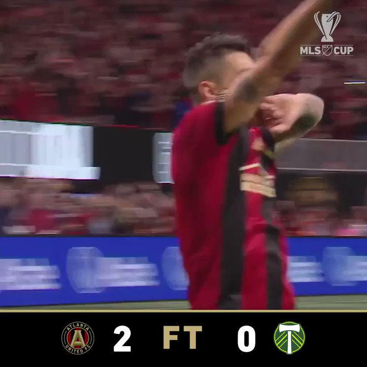 FT: The perfect ending to a record-breaking season for @ATLUTD! #MLSCup