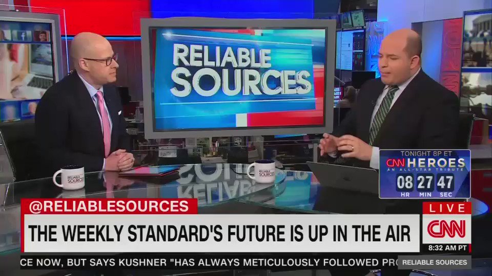 """CNN """"reporter"""" Brian Stelter begs fake conservative Max Boot to figure out how top stop Heather Nauert from becoming U.N. ambassador: """"What do we do? Max, she is not qualified for this job!"""""""