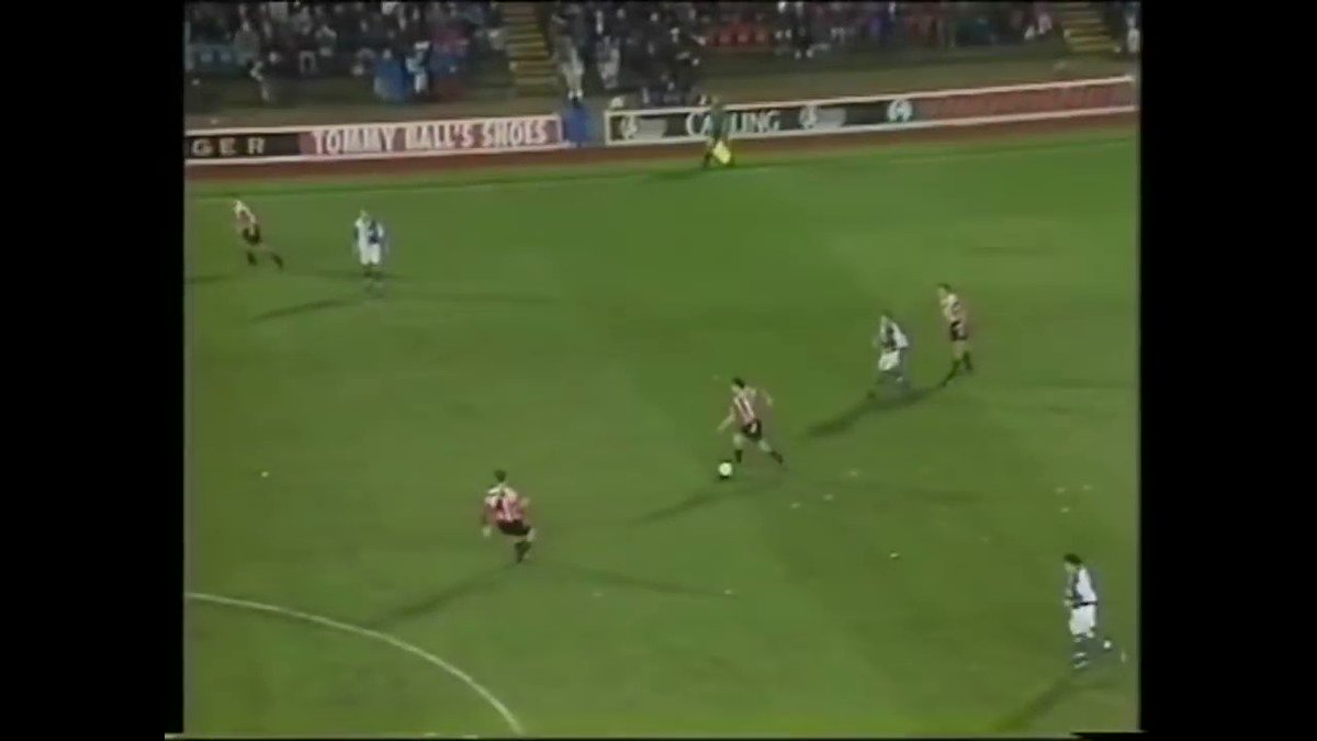 24 years ago today @mattletiss7 did this at Ewood Park. Goal of the Season. One of the goals of the decade.   Frankly, one of the best goals you'll ever see...
