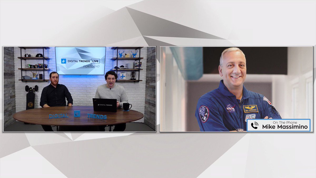.@NASA Astronaut Mike Massimino (@Astro_Mike) tells DT Live about the time he encountered an issue on the Hubble Telescope and the quick decisions they had to make. #HubbleTelescope #Space #NASA #Mars #DTLive