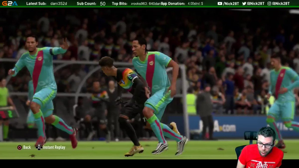 Neymar dive = Rio Red and then a perfect manual tackle = him scoring an easy goal... #FIFA19 defined in one clip...   (*disclaimer* I know I am not the best FIFA player and should still be able to win these types of games, thats my bad, I am bad)