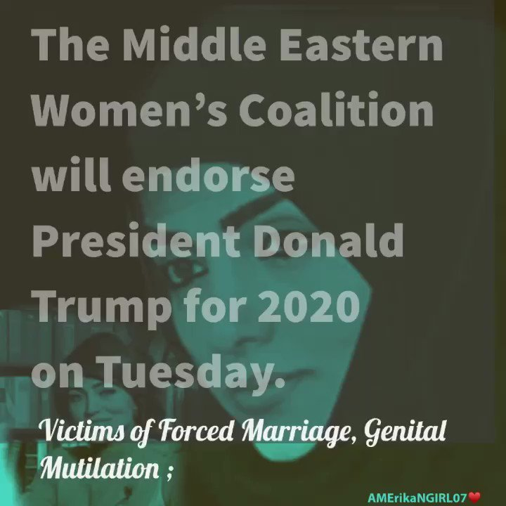 """The Middle Eastern Womens Coalition will endorse President Donald Trump for 2020 """"he gives us Hope """". Rights Activist @_rabiakazan Linda Sarsour is promoting Sharia law and misleading Americans, #SundayThoughts #MondayMotivation pjmedia.com/trending/midea…"""