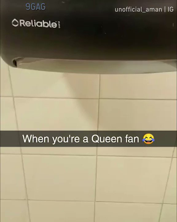 [🔊] When you're a Queen fan Congrats to unofficial_aman   IG on becoming #9GAGFunOff week 4 winner! Submit your videos to http://funoff.9gag.com to win $10,000 and get famous!