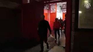FANS calling manager outside OT after the Draw #MUNARS  Jose ... Josè .... José ♥ Josè Mourinho Josè Mourinho