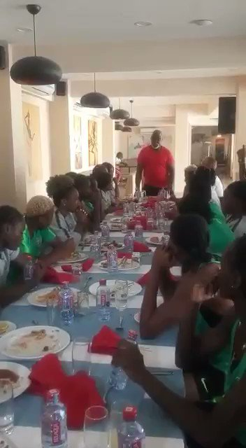 Dear @PinnickAmaju This is you promising the girls that within 10days, you will approve their world cup program. Today is day 11. As the Watchdog🐕, l will keep reminding you of this till you do it. You must give them a better WC preparation than SE, because nah you talk am.