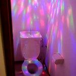 トイレの電球が切れたから……新しいのに変えてみた!
