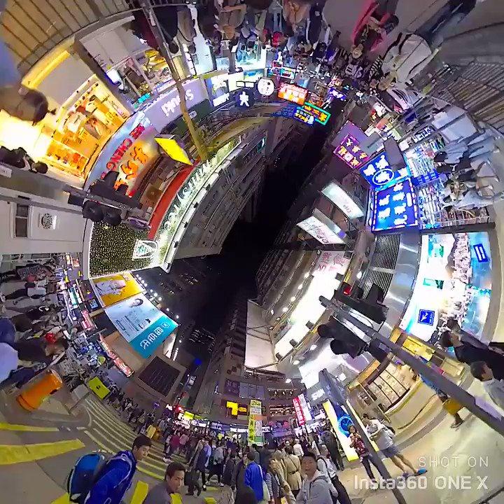 Mong Kok - Hong Kong Shoot on insta360 One X @Insta360Japan @insta360  . . . #hongkong #香港 #insta360oneX #insta360 #360度カメラ #360cam #led #mongkok #trip #hongkongtrip  #gopro #goprofusion #360sphere #theta #theta360 #discoverhongkong #hongkonginsta #actioncampic.twitter.com/m2XNZqkhfA