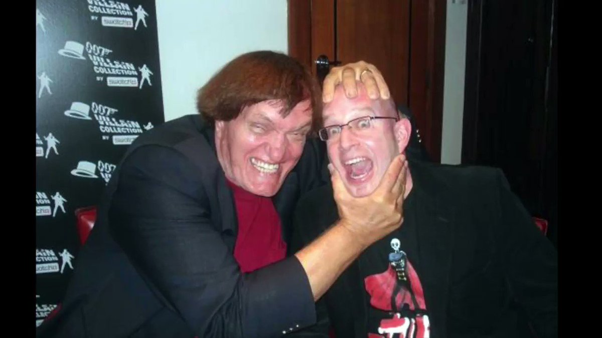 I just discovered a great old sound clip from my 2008 interview with legendary @007 henchman Richard Kiel. Hes talking about his favourite Bond, but its not who you think!
