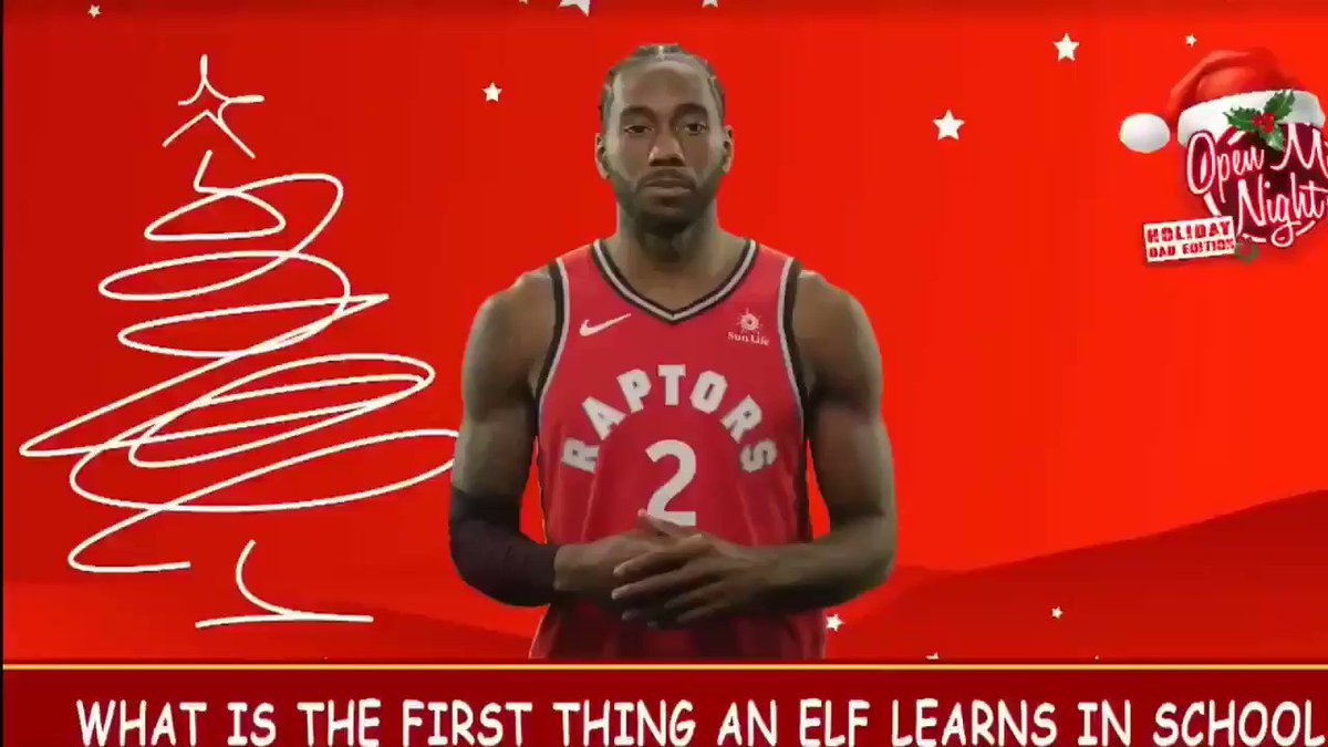 This joke from Kawhi😭