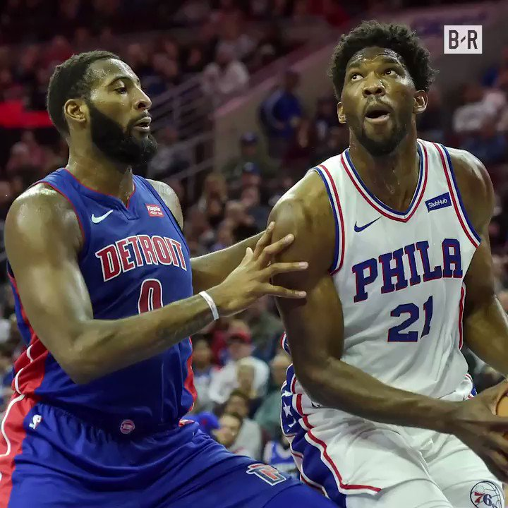 Embiid vs. Drummond again tonight. One of the league's best current beefs 🍿