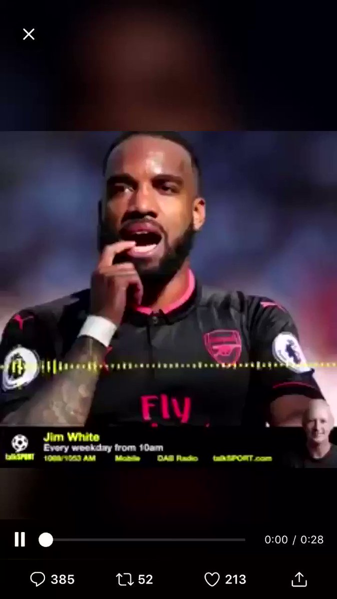 Me, I will never forget this. Talksport even deleted after because of the rightful backlash. When have you ever seen Lacazette in a fur coat and flash car?
