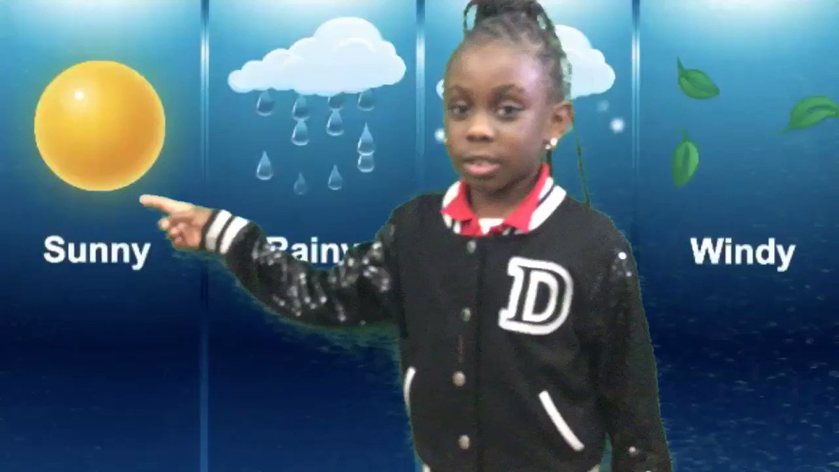 So this is what it's like to forecast the weather using a green screen and ⁦@DoInkTweets⁩ ⁦@BrowardSTEM⁩ ⁦@BrowardTitleI⁩ ⁦@Annabel_C_Perry⁩