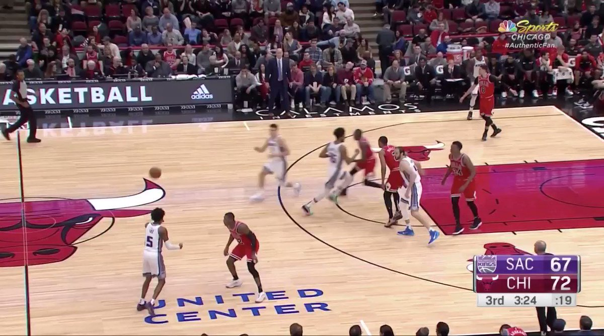 DeAaron Fox has me feeling more optimistic that his improved jumper is for real because of 3-pointers like this. Its not like hes just hitting standstill spot-up attempts. Fox is draining dribble-jumper 3s and 3s off screens.