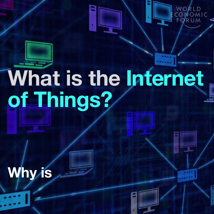Image for the Tweet beginning: What is the Internet Of