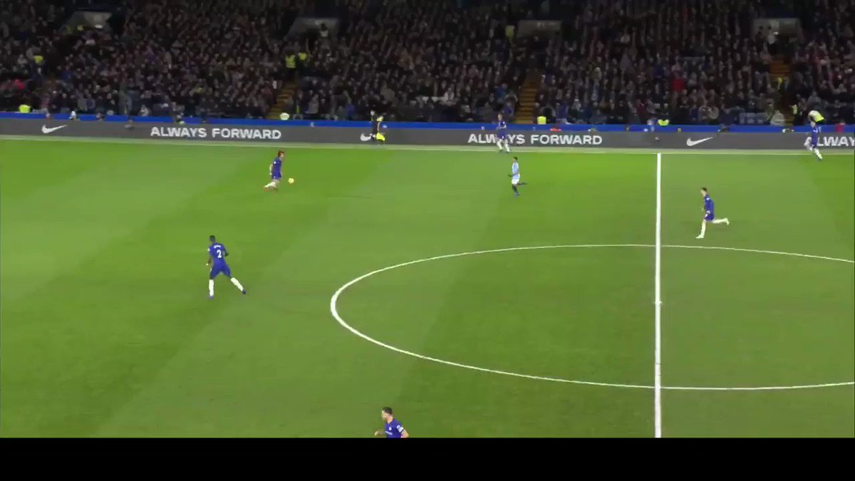 #Sarriball build up vs ManCity  Our build up in the 2nd half of the match made city confused. #CFC   Credit: wonkyoPark
