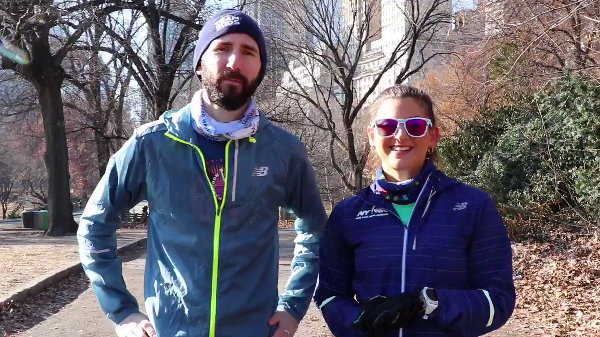 🎁🎄As the holidays approach, so does the cold weather! ❄️ Catch some tips from Coach Mel and Steve for the best runs during your winter training with this #TrainingTipTuesday!