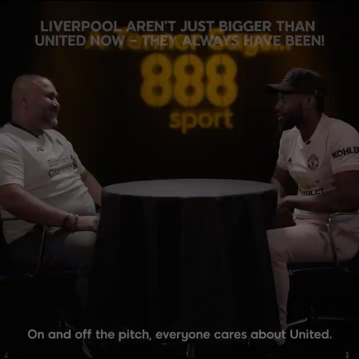 Liverpool superfan @GrizzKhan tells his United rival @rantsnbants the Reds have ALWAYS been the bigger club – and it didn't go down well!  What do you think?  #ATennerSays