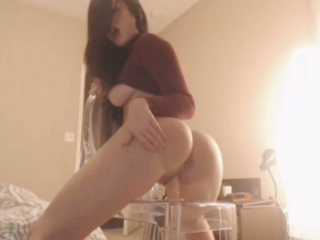 Fucking herself amateur cam solo toy homemade dildo porn