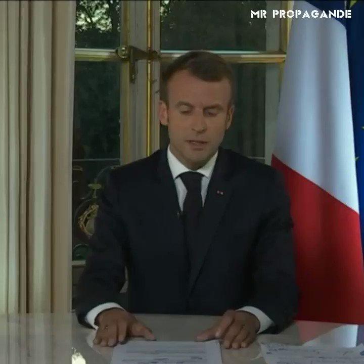 On m'a demandé de résumer le mandat d'Emmanuel Macron en moins de 10 secondes.  😉